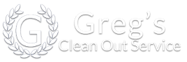 Greg's Clean Out Service Logo
